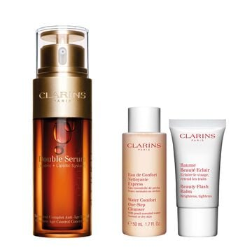 Radiant and Rested Double Serum Set