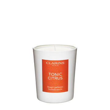 Tonic Citrus Scented Candle