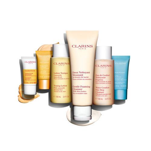 Comfort Cleansing Set -  Dry or Sensitive Skin