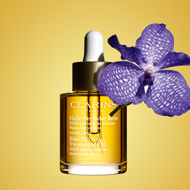 Blue Orchid Oil with Blue Orchid Ingredient