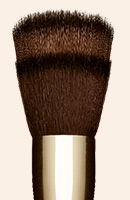 Multi-use foundation brush