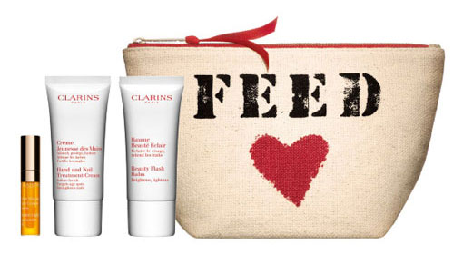FEED for Clarins pouch